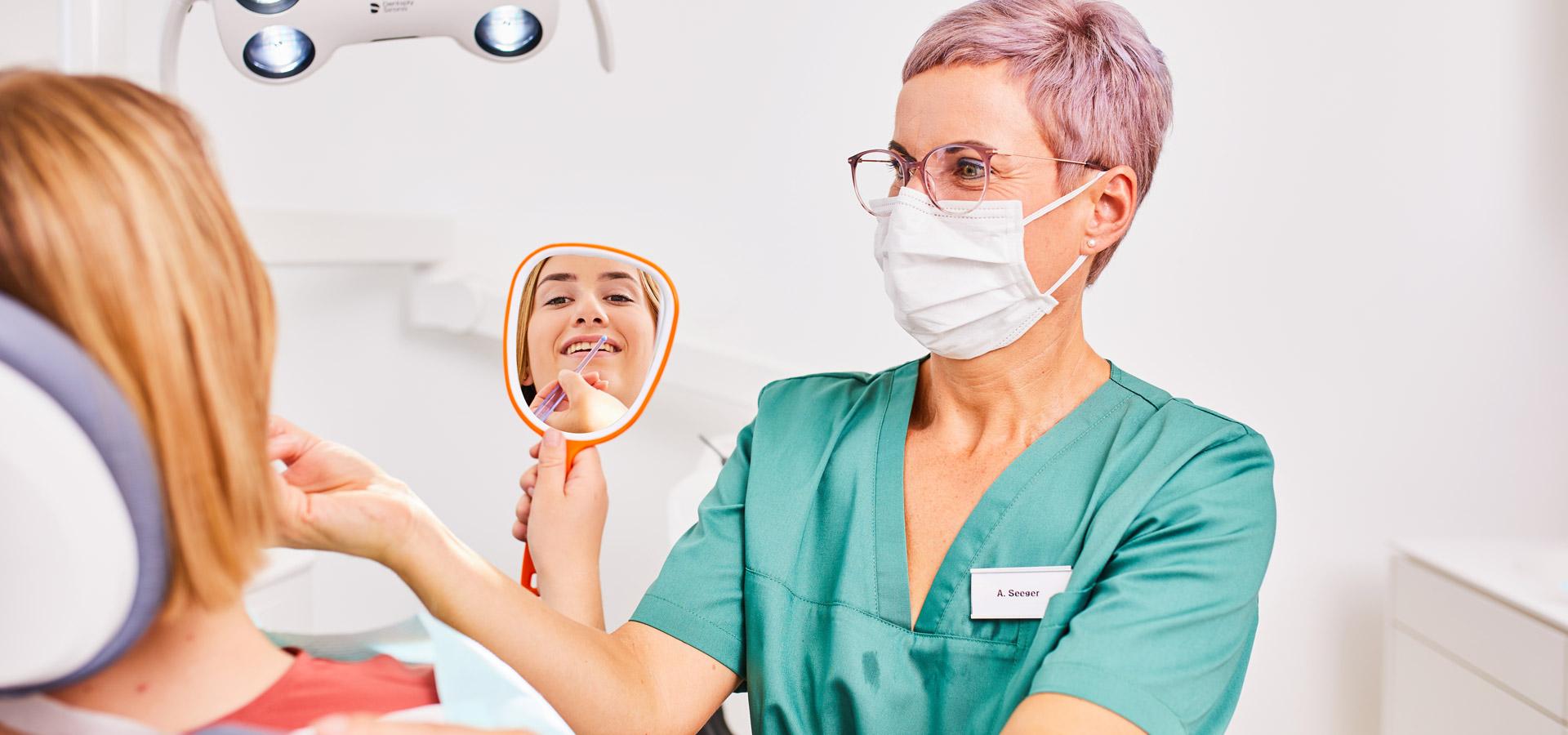 Zahnärzte Neubulach - Prophylaxe 1